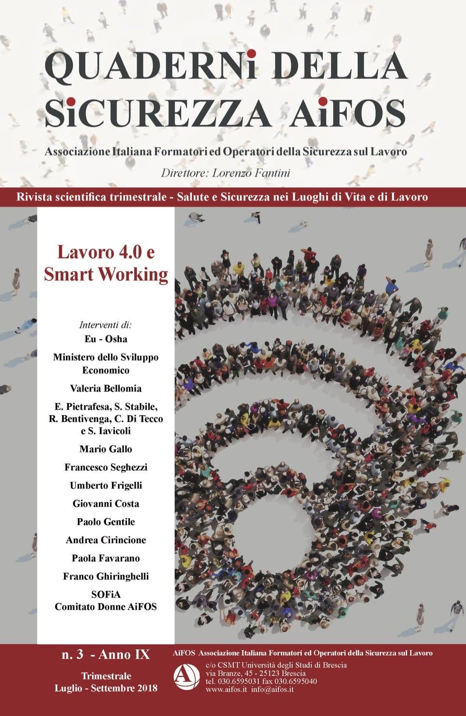 Lavoro 4.0 e Smart Working