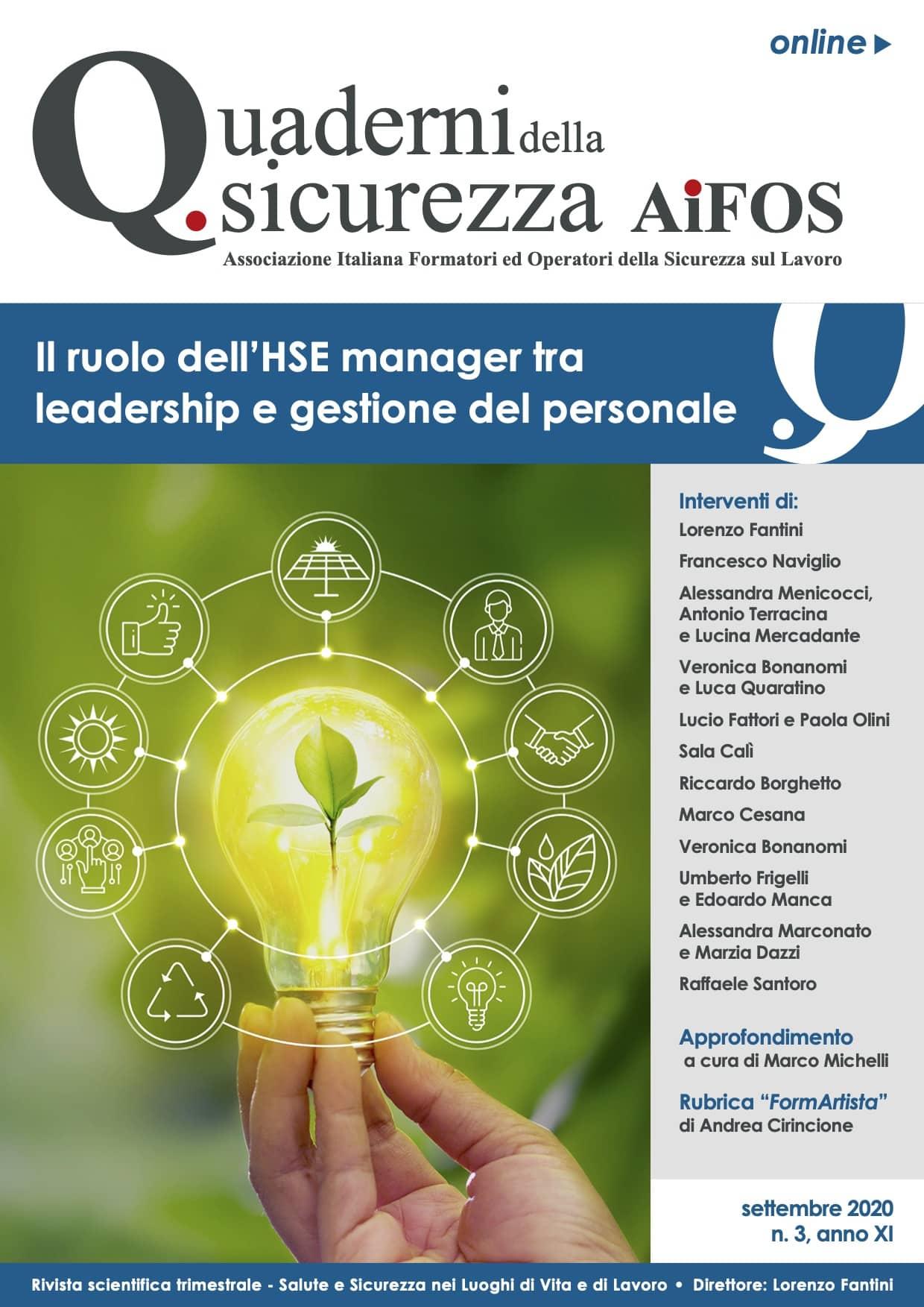 Il ruolo dell'HSE manager tra leadership e gestione del personale